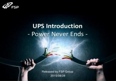 FSP uređaji za besprekidno napajanje (UPS)