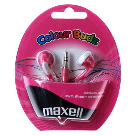 Maxell Colour Budz pink slušalice sa mikrofonom
