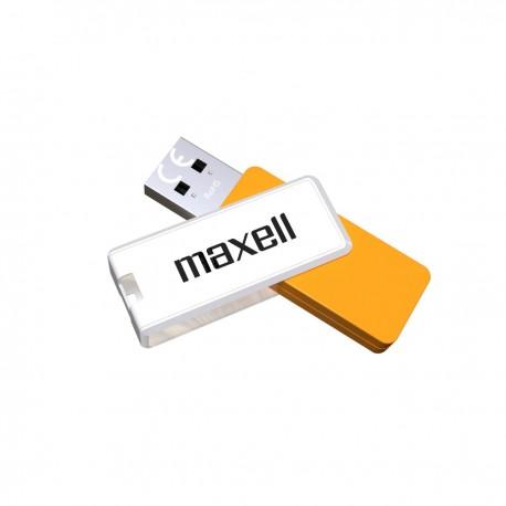 Maxell USB2.0 32GB Typhoon White+Orange