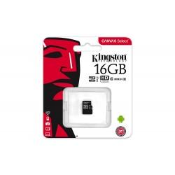 Kingston 16GB microSDHC Canvas 80R CL10 UHS-I SDCS/16GB