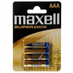 Maxell super alkalne baterije AAA LR03 4 kom