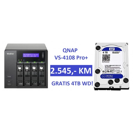 QNAP VS-4108 Pro+ (Network Video Recorder) - INGEL d o o