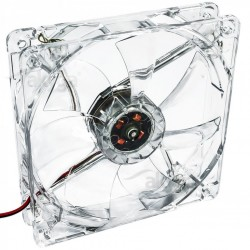 Fan LED 120mm MOLEX red Akyga AW-12A-BR