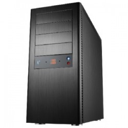 CS-Black Pearl II, black aluminium Midi Tower case, RoHS