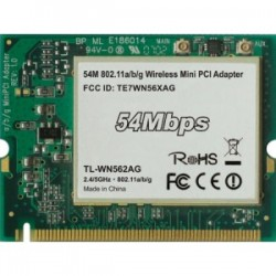 Mrežna karrtica 54Mbps Wireless mini PCI Adapter 2.4/5GHz TL-WN562AG