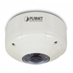 PLANET ICA-8350 3 Mega-pixel Vandalproof Fish-Eye IP Camera