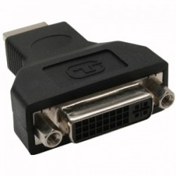 HDMI-DVI Adapter, InLine®, HDMI plug to DVI socket