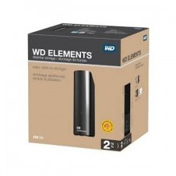 WD 2 TB Elements Desktop USB3.0 WDBWLG0020HBK-EESN