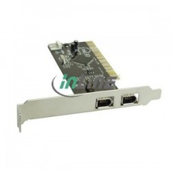FireWire card with 3 IEEE1394 ports, one internal pinheader