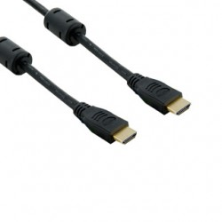4World HDMI - HDMI cable 19/19 M/M 15m, ferrite, gold-plated