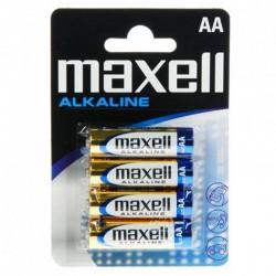 Baterije AA MAXELL alkalne 4 kom (LR6, 1.5V)