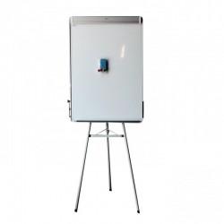 Bijela tabla 70x100cm sa postoljem i Al okvirom
