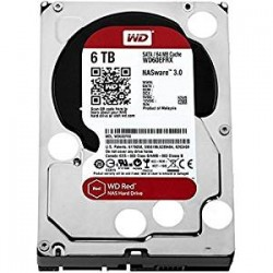 WD Red 6TB, 64MB, IntelliPower, 24x7 (WD60EFRX)