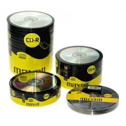 Maxell CD-R 25 kom 52x 80 min 700 MB