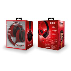 Maxell B*52 slušalice crveno-crne