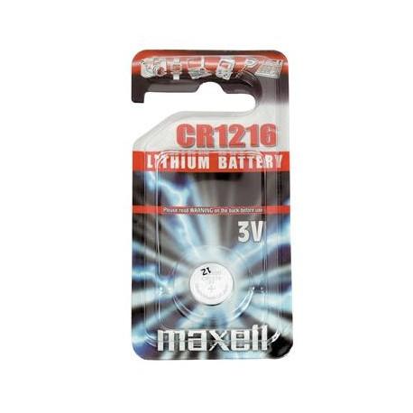 Maxell baterija CR1216 (3V, 1 kom)