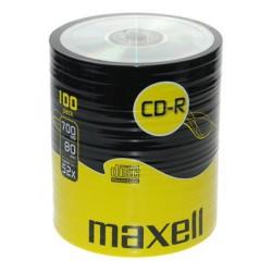Maxell CD-R 100 kom 52x 80 min 700 MB