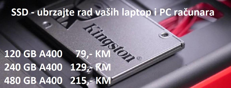 Ugradite SSD i ubrzajte rad vaših laptop i PC računara!